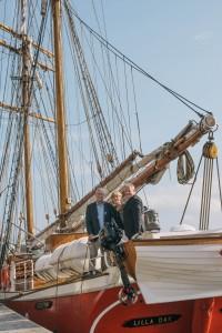 Jens Ditlev Lauritzen, Finn Berggren og Inge Grønvold