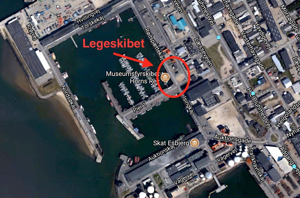 Legeskibet besøger Esbjerg