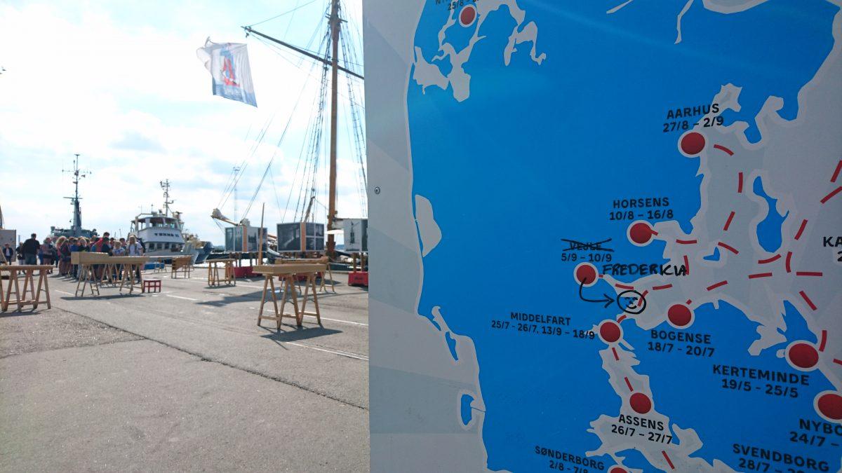 Legeskibet besøger Fredericia allerede i 2016