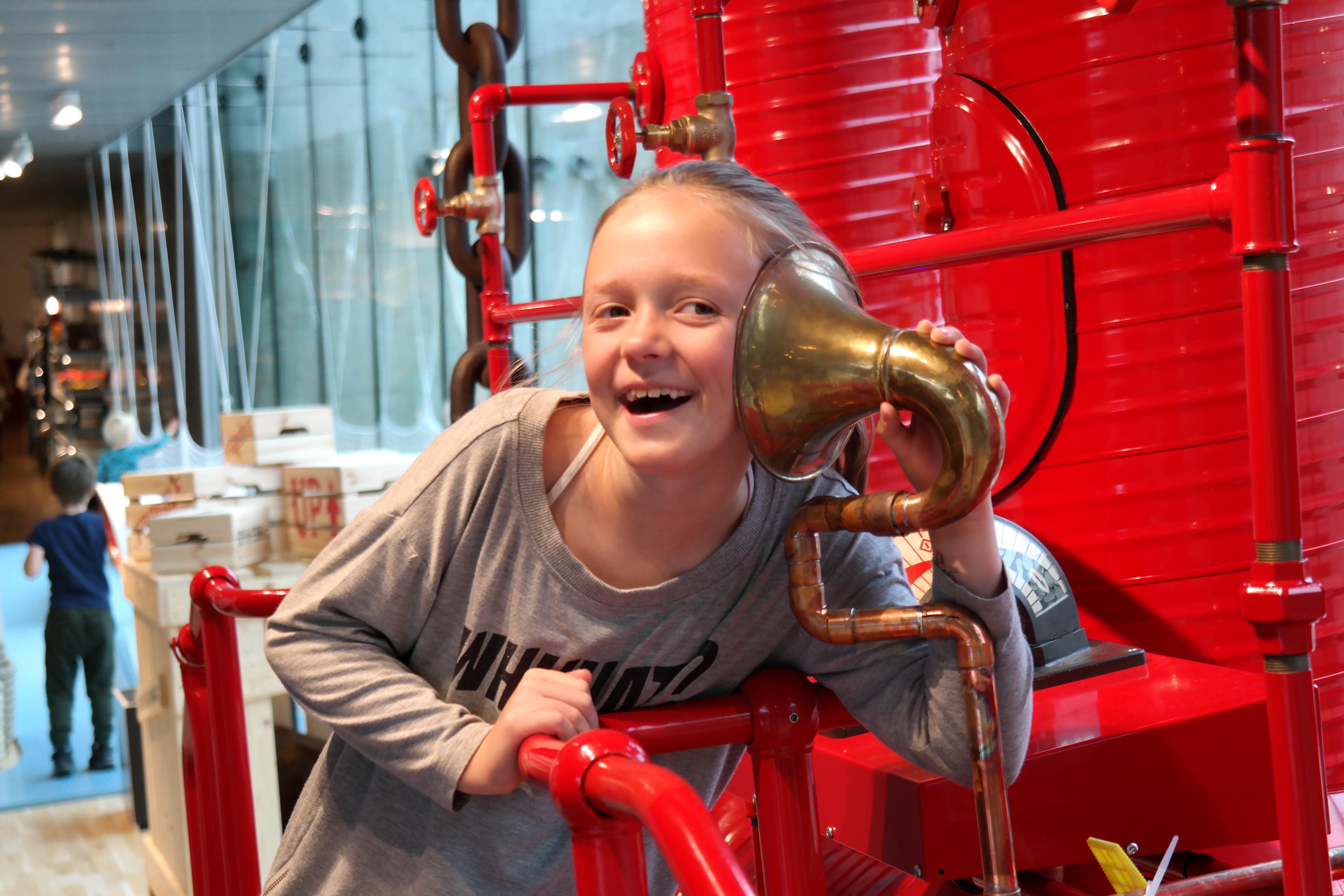 Legeskibet har fået en lillesøster på M/S Museet for Søfart